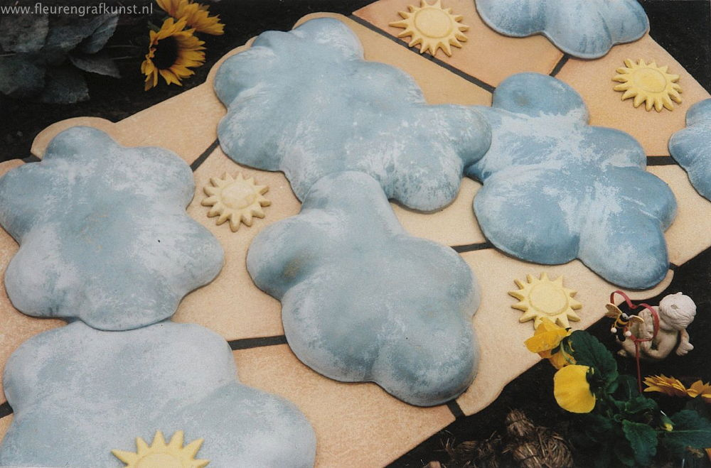 Afbeeldingen van keramiek op kindergraven - Kantoor voor een klein meisje ...